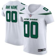 Wholesale Cheap Nike New York Jets Customized Spotlight White Stitched Vapor Untouchable Elite Men's NFL Jersey