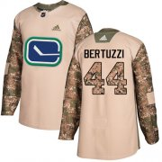 Wholesale Cheap Adidas Canucks #44 Todd Bertuzzi Camo Authentic 2017 Veterans Day Stitched NHL Jersey