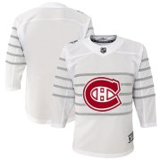 Wholesale Cheap Youth Montreal Canadiens White 2020 NHL All-Star Game Premier Jersey