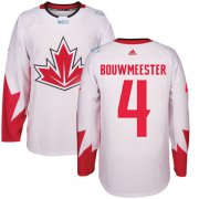 Wholesale Cheap Team Canada #4 Jay Bouwmeester White 2016 World Cup Stitched Youth NHL Jersey