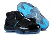 Wholesale Cheap Womens Air Jordan 11 (XI) Retro Shoes gamma blue/black