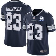 Wholesale Cheap Nike Cowboys #23 Darian Thompson Navy Blue Team Color Men's Stitched With Established In 1960 Patch NFL Vapor Untouchable Limited Jersey