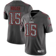 Wholesale Cheap Nike Patriots #15 Chris Hogan Gray Static Youth Stitched NFL Vapor Untouchable Limited Jersey