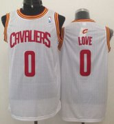 Wholesale Cheap Cleveland Cavaliers #0 Kevin Love White Swingman Jersey