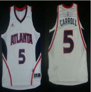 Wholesale Cheap Revolution 30 Atlanta Hawks #5 DeMarre Carroll White Stitched NBA Jersey