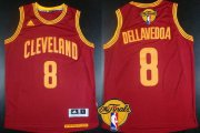 Wholesale Cheap Men's Cleveland Cavaliers #8 Matthew Dellavedova 2015 The Finals New Red Jersey