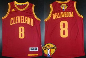 Wholesale Cheap Men\'s Cleveland Cavaliers #8 Matthew Dellavedova 2015 The Finals New Red Jersey