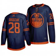 Wholesale Adidas Oilers #22 Jean-Francois Jacques Green Salute to Service Stitched NHL Jersey