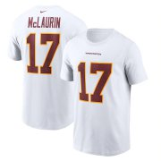 Wholesale Cheap Washington Redskins #17 Terry McLaurin Football Team Nike Player Name & Number T-Shirt White