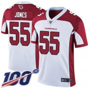 Wholesale Cheap Nike Cardinals #55 Chandler Jones White Men's Stitched NFL 100th Season Vapor Limited Jersey