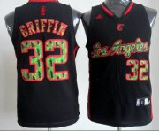 Wholesale Cheap Los Angeles Clippers #32 Blake Griffin Black Camo Fashion Jersey