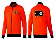 Wholesale Cheap NHL Philadelphia Flyers Zip Jackets Orange