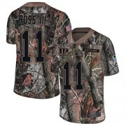 Wholesale Cheap Nike Bengals #11 John Ross III Camo Men's Stitched NFL Limited Rush Realtree Jersey