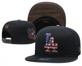Wholesale Cheap MLB Los Angeles Dogers Snapback Ajustable Cap Hat 2