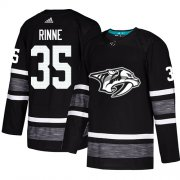 Wholesale Cheap Adidas Predators #35 Pekka Rinne Black Authentic 2019 All-Star Stitched Youth NHL Jersey