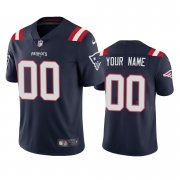 Wholesale Cheap New England Patriots Custom Men's Nike Navy 2020 Vapor Limited Jersey