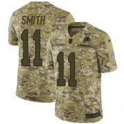 Wholesale Cheap Nike Redskins #11 Alex Smith Camo Youth Stitched NFL Limited 2018 Salute to Service Jersey