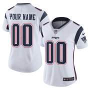 Wholesale Cheap Nike New England Patriots Customized White Stitched Vapor Untouchable Limited Women's NFL Jersey