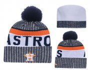 Wholesale Cheap MLB Houston Astros Logo Stitched Knit Beanies 004