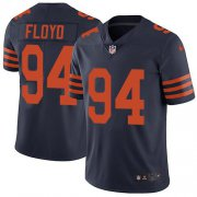 Wholesale Cheap Nike Bears #94 Leonard Floyd Navy Blue Alternate Youth Stitched NFL Vapor Untouchable Limited Jersey