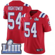 Wholesale Cheap Nike Patriots #54 Dont'a Hightower Red Alternate Super Bowl LIII Bound Men's Stitched NFL Vapor Untouchable Limited Jersey