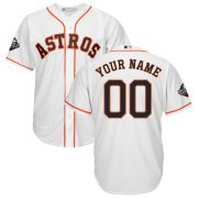 Wholesale Cheap Houston Astros Majestic 2019 World Series Bound Official Cool Base Custom Jersey White