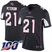 Wholesale Cheap Nike Cardinals #21 Patrick Peterson Black Alternate Men's Stitched NFL 100th Season Vapor Limited Jersey