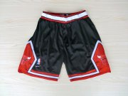 Wholesale Cheap Chicago Bulls Black Nike Mesh NBA Shorts