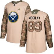 Wholesale Cheap Adidas Sabres #89 Alexander Mogilny Camo Authentic 2017 Veterans Day Stitched NHL Jersey