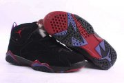 Wholesale Cheap Air Jordan 7 Retro Shoes Black/Wine red