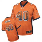Wholesale Cheap Nike Bears #40 Gale Sayers Orange Alternate Men's Stitched NFL Elite Drift Fashion Jersey