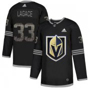 Wholesale Cheap Adidas Golden Knights #33 Maxime Lagace Black Authentic Classic Stitched NHL Jersey