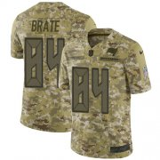 Wholesale Cheap Nike Buccaneers #84 Cameron Brate Camo Men's Stitched NFL Limited 2018 Salute To Service Jersey