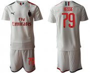 Wholesale Cheap AC Milan #79 Hessie Away Soccer Club Jersey