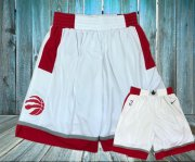 Wholesale Cheap Toronto Raptors White Nike Swingman Shorts
