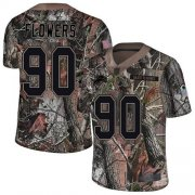 Wholesale Cheap Nike Lions #90 Trey Flowers Camo Men's Stitched NFL Limited Rush Realtree Jersey
