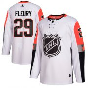 Wholesale Cheap Adidas Golden Knights #29 Marc-Andre Fleury White 2018 All-Star Pacific Division Authentic Stitched Youth NHL Jersey