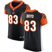 Wholesale Cheap Nike Bengals #83 Tyler Boyd Black Team Color Men's Stitched NFL Vapor Untouchable Elite Jersey