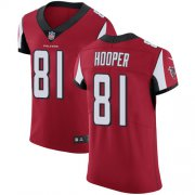 Wholesale Cheap Nike Falcons #81 Austin Hooper Red Team Color Men's Stitched NFL Vapor Untouchable Elite Jersey