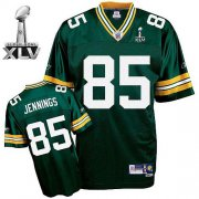 Wholesale Cheap Packers #85 Greg Jennings Green Super Bowl XLV Stitched NFL Jersey