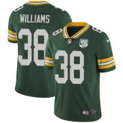 Wholesale Cheap Nike Packers #38 Tramon Williams Green Team Color Men's 100th Season Stitched NFL Vapor Untouchable Limited Jersey