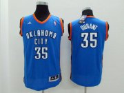 Cheap Oklahoma City Thunder #35 Kevin Durant Blue Kids Jersey
