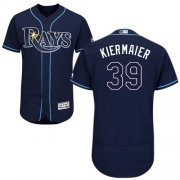Wholesale Cheap Rays #39 Kevin Kiermaier Dark Blue Flexbase Authentic Collection Stitched MLB Jersey