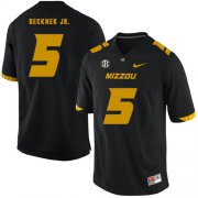 Wholesale Cheap Missouri Tigers 5 Terry Beckne Jr. Black Nike College Football Jersey