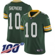 Wholesale Cheap Nike Packers #10 Darrius Shepherd Green Team Color Men's Stitched NFL 100th Season Vapor Untouchable Limited Jersey
