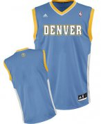 Wholesale Cheap Denver Nuggets Blank Light Blue Swingman Jersey