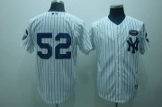 Wholesale Yankees #52 C.C. Sabathia White GMS The Boss Stitched Baseball Jersey