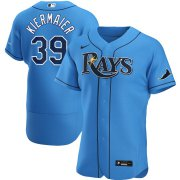 Wholesale Cheap Tampa Bay Rays #39 Kevin Kiermaier Men's Nike Light Blue Alternate 2020 Authentic Player MLB Jersey