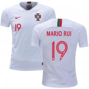 Wholesale Cheap Portugal #19 Mario Rui Away Kid Soccer Country Jersey