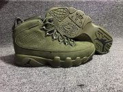 Wholesale Cheap Air Jordan 9 Retro Shoes All Green